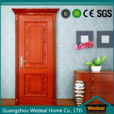 Pintura sólida de madera del exterior a prueba de fuego panel de la puerta