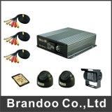 OEM DVR 상표 제공을%s 가진 4개의 채널 통신로 SD 카드 구멍 720p Ahd 사진기 Mdvr 이동할 수 있는 DVR