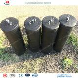 Повышенные раздувные резиновый штепсельные вилки трубы с по-разному диаметром
