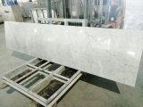 Естественные Countertops Carrara белые мраморный для хлебосольства/Multifamily (YY-QC003)