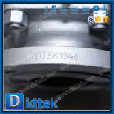 La maniglia di Didtek l'api 6D 4inch fa funzionare la valvola della sfera d'acciaio del pezzo fuso
