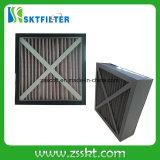 Filtro dell'aria Foldaway del cartone della piega