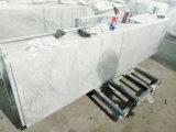 Controsoffitti di marmo bianchi di Carrara per ospitalità/multifamiliare naturali (YY-QC003)
