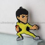 Lecteur flash USB de dessin animé de Bruce Lee (UL-PVC003)