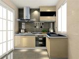 Белый меламина современные печи кухонным шкафом