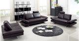 تصميم حديث يعيش غرفة جلد ركب استقبال أريكة ([هإكس-فز05567])