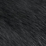 Pelliccia lunga dell'acrilico della pelliccia artificiale del tessuto a riccio della pelliccia del franco del mackintosh della pelliccia falsa del Faux