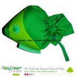 Saco de compra Foldable, estilo dos peixes, reusável animal, de pouco peso, presentes, promoção, acessórios & decoração, sacos de mantimento