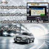 Unidade completa da relação video da navegação para 09-14 Audi A6l/A8/Q7/S6 (3GMMI)