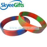 Wristband su ordinazione poco costoso professionale personalizzato del silicone