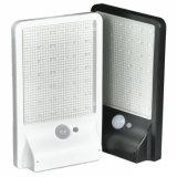 La pared impermeable enciende la lámpara de la seguridad del jardín de las lámparas de detección de movimiento de la luz de calle de la energía solar de 450lm 42 LED PIR al aire libre