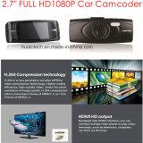 """싸게 2.7 """" Ntk96650 차 디지털 비디오 녹화기, 3.0m Aptina Ar0330 차 사진기, 주차 통제, 야간 시계, 움직임 Dectection 차 비행 기록 장치를 가진 FHD1080p 차 DVR"""