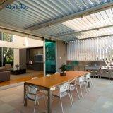 Motorisiertes Pergola-InstallationssätzeGazebopergolas-Luftschlitz-Dach mit LED-Licht