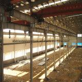 De Bouw van de Structuur van het Staal van twee Verdieping voor het Pakhuis van het Staal, Workshop