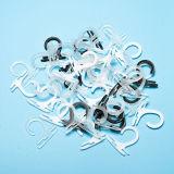 Crochet en plastique blanc en forme de Z pour chaussettes (SH001Z-6)