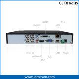 gravador de vídeo de 720p 4CH Ahd/Tvi Digitas