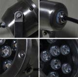 Подводный напольный IP68 свет бассеина нержавеющей стали 12W