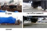 4-16ton plataforma de camión grúa móvil tornillo de perforación en Nueva Zelanda