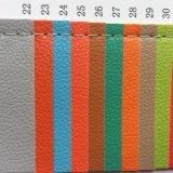 couro do plutônio do Synthetic de 0.5mm para casos do pacote