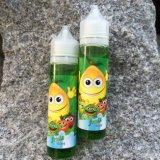 60ml de plastic Vloeistof van de Fles E met de Vrije Diensten van het Ontwerp van het Embleem