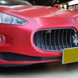 Tsautop 1.52 * 20m cepillado cromo mate auto adhesivo de vinilo auto adhesivo impermeable burbuja de aire libre PVC película auto adhesivo coche envoltura vinilo