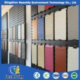 Les panneaux muraux intérieurs haute densité PU des panneaux isolants décoratifs en métal Mur extérieur
