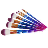 7PCS Colorful Diamond Handle Rainbow Makeup Brush Set