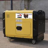 Generatore silenzioso portatile raffreddato ad aria del diesel 5000W della fabbrica BS6500dsea 5kVA 5kw dell'OEM del bisonte (Cina) piccolo per uso domestico