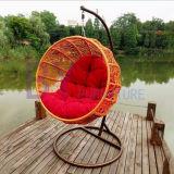 Modern Outdoor Leisure Furniture Cadeira de suspensão de enrolar de alumínio