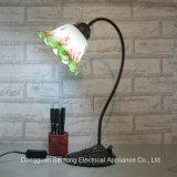 新しいチューリップの花の卓上スタンドの現代明確な照明