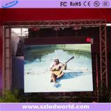 P6 의 P3 광고를 위한 실내 임대 풀 컬러 전시 화면 LED 패널판