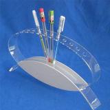 Il supporto acrilico al minuto della visualizzazione per la penna, schiocca il banco di mostra acrilico