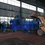 A fábrica Limalhas de metal máquina para fazer blocos de Rotação Horizontal