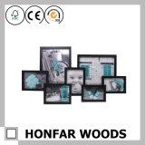 Cornice di legno di arte di stampa del collage per la decorazione della parete