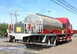 carro del tanque del transporte del asfalto 8000L/carro del tanque Heated líquido del betún