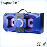 10vatio de potencia altavoz Bluetooth portátil de madera con micrófono (XH-PS-719)