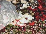 Напечатанная цветком ткань Microfiber полиэфира для ткани Hometextile простыни