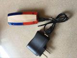 Lampadaire de circulation LED / Rechargeable Bleu et Rouge épaules pour police