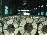 Cabo elétrico de arame de aço revestido de alumínio