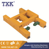 3 Tonnen-doppelte Träger-laufende Laufkatze-elektrische Laufkatze-Riemenscheibe