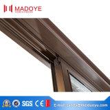 Porta deslizante horizontal de vidro do perfil de alumínio durável