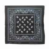 Vente en gros Custom Paisley Traditionnel Impression Square Cotton Bandana As Bag Accessory