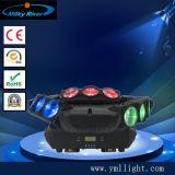4X12W 4in1 RGBW LEDの最も新しいビーム洗浄移動ヘッドライト