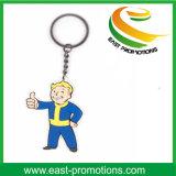 昇進の漫画の形の金属Keychain