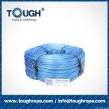 파란 색깔 9mmx28muhwmpe 밧줄 윈치 합성 물질 밧줄