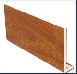 Película de oro del roble PMMA/PVC para el travesaño de la ventana/el perfil de la ventana