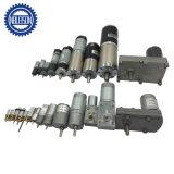 12V DC pequeño motor reductor de engranajes con caja de cambios