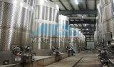 Filtration agglomérée de vin de diffusion d'acier inoxydable