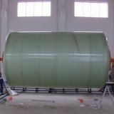 Горизонтальный бак стеклоткани используемый FRP пластичный септический для обработки нечистоты