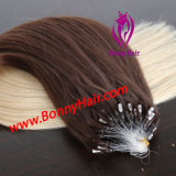 T van het Micro- van de Kleur de Uitbreiding Haar van de Ring, de Uitbreiding van het Micro- Haar van de Parel, de Uitbreiding van het Haar van de Droom, het Maagdelijke Remy Menselijke Haar van 100%, Aangepaste Beschikbare Orde